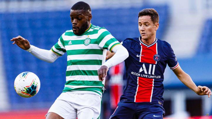 Celtic endured a tough defeat at Paris Saint-Germain in France