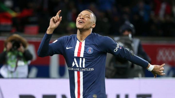 Mbappé ya había sido máximo goleador de la Ligue 1 en la temporada 2018/19