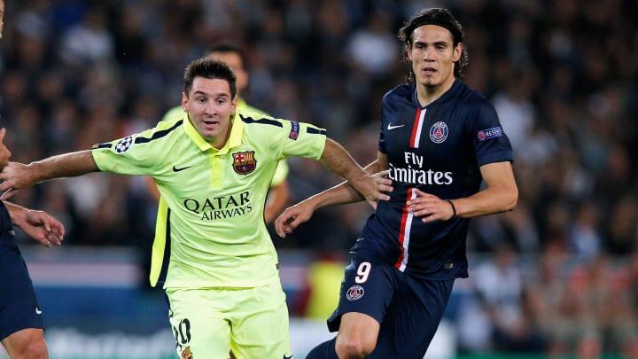 Messi y Cavani