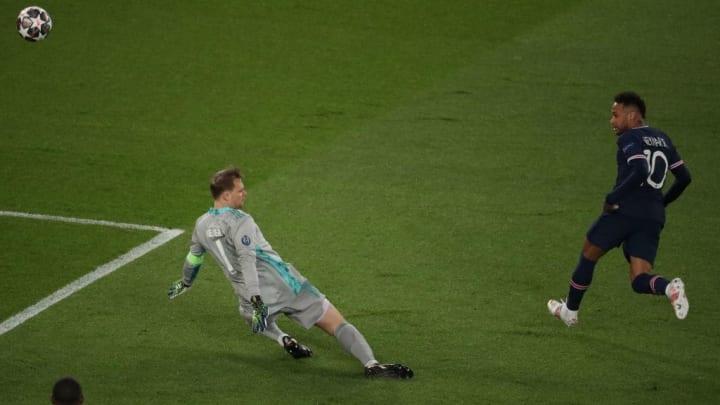 Manuel Neuer Neymar Bayern de Munique Champions League PSG