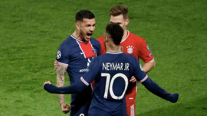 Leandro Paredes et Neymar, amis au PSG, vont se défier en finale de la Copa America.