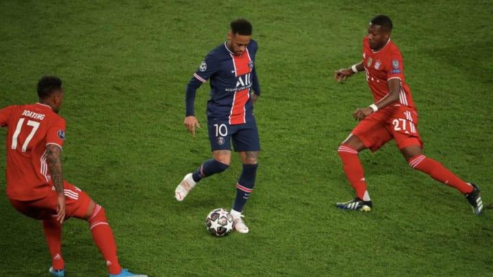 David Alaba, Neymar Jr