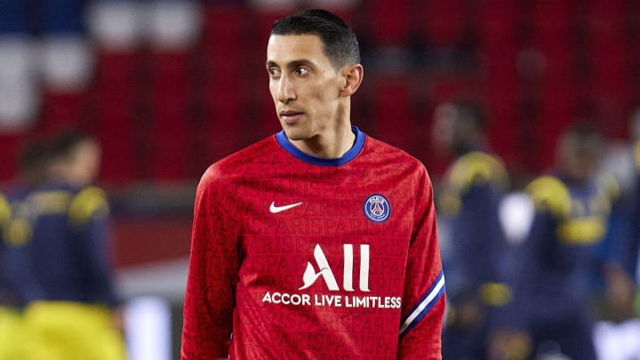 Angel Di Maria left the game to go help his family