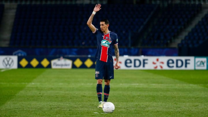 Angel Di Maria PSG Champions League Bayern Munique