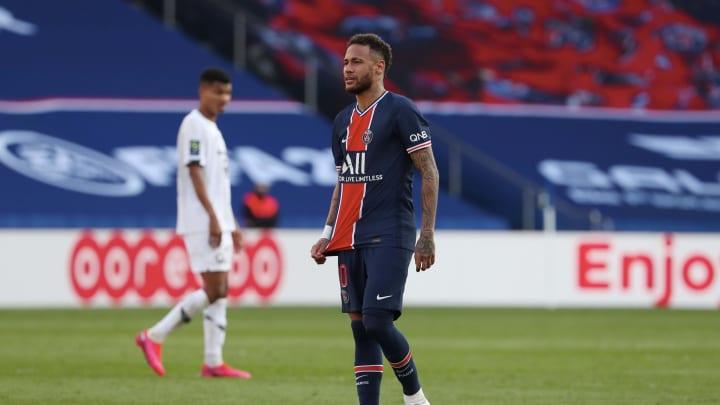 Neymar will miss Paris Saint-Germain's next two Ligue 1 matches