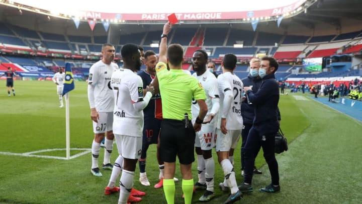 Tiago Djalo Neymar Jr PSG Lille Ligue 1