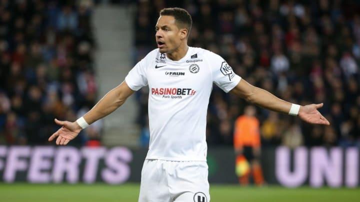 Daniel Congré sous les couleurs de Montpellier.