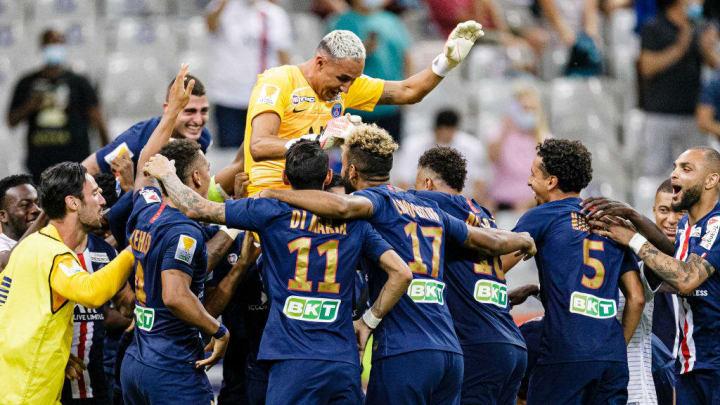 Paris Saint Germain v Olympique Lyonnais - French League Cup (Coupe De La Ligue) - Final