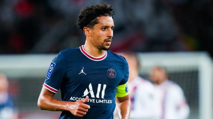 Marquinhos atua no PSG   Paris Saint Germain v Olympique Lyonnais - Ligue 1 Uber Eats