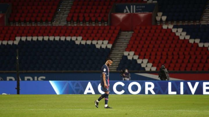 Sah mal wieder rot: Neymar