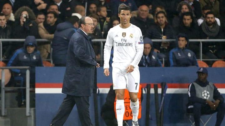 Cristiano Ronaldo, Rafael Benitez, Rafa Benitez