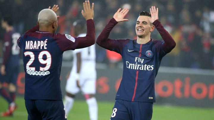 Giovani Lo Celso, Kylian Mbappe