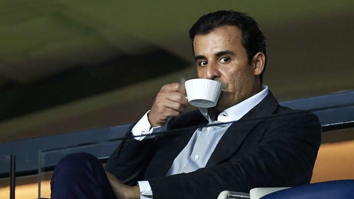 Le propriétaire du Paris SG Tamim bin Hamad Al Thani.