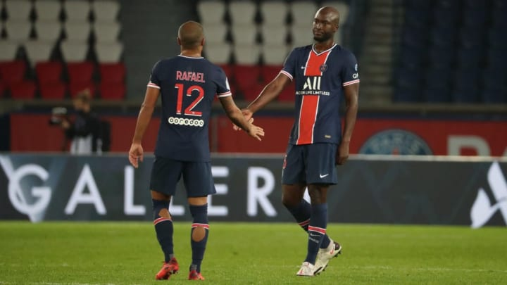 La paire parisienne au milieu de terrain face à Monaco