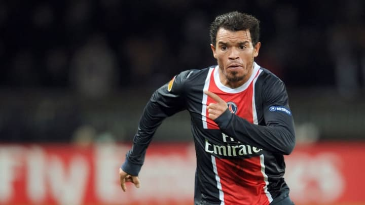 Paris Saint-Germain's Brazilian defender
