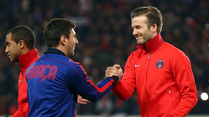 Beckham acredita que Messi e Cristiano podem, sim, jogar na MLS