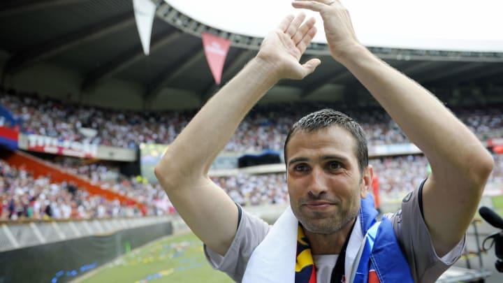 Paris St Germain's all-time leading goal