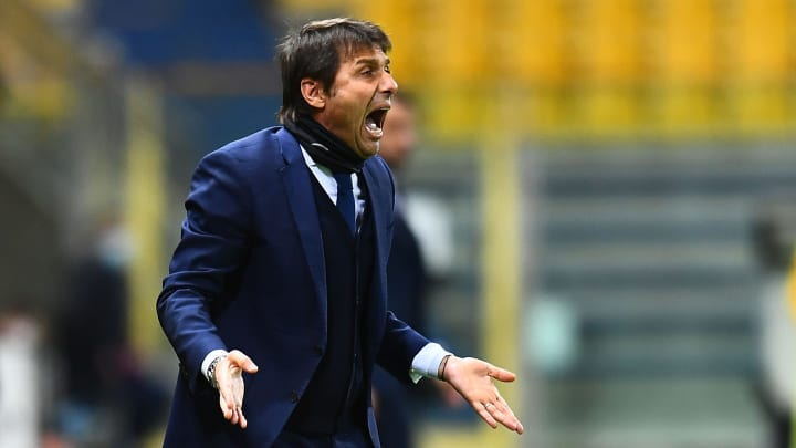 Antonio Conte's Inter lead the Serie A table