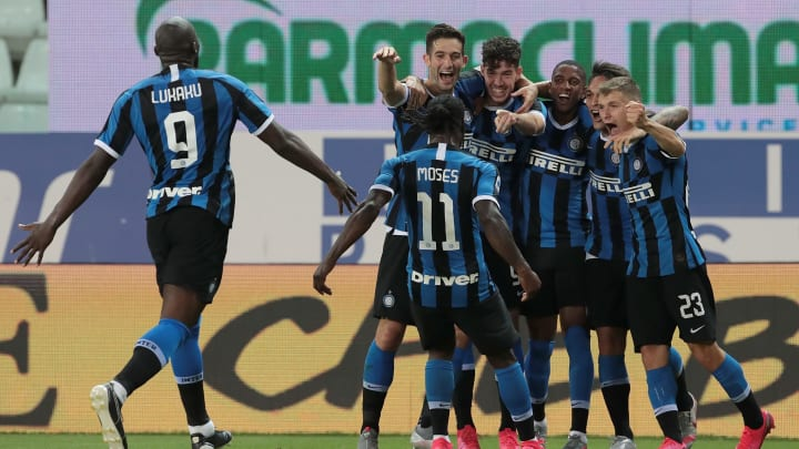 Inter celebrate their late, late win