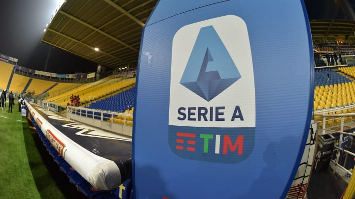 Il logo della Serie A