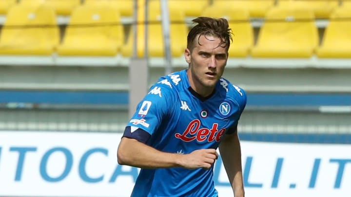 Piotr Zielinski is one of the Napoli players to have tested positive in recent days