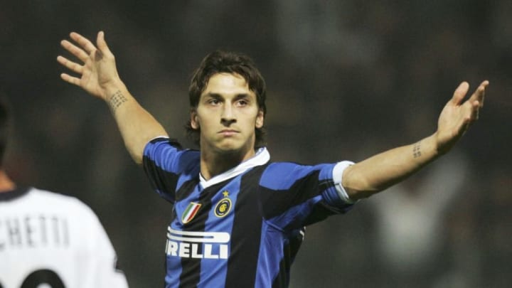 The Swede joined Inter from their rivals Juventus in 2006