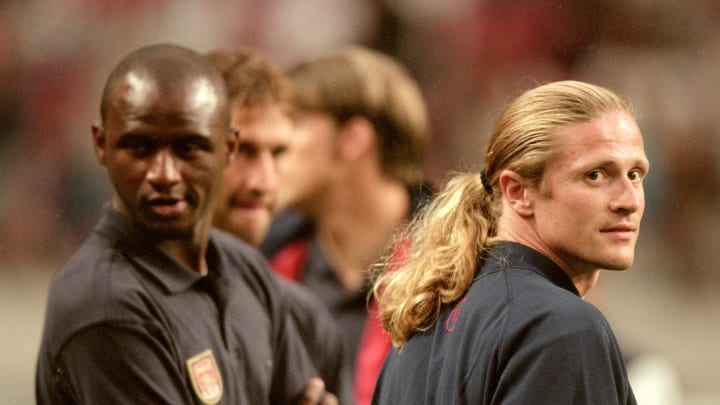 Patrick Vieira and Emmanuel Petit were integral to the late 90s Arsenal side