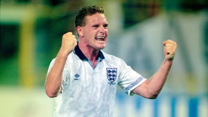 Paul Gascoigne England v Cameroon 1990 World Cup Quarter final
