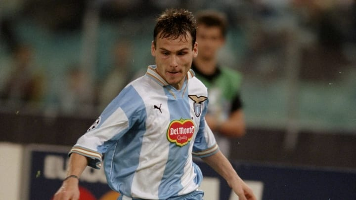 Pavel Nedved of Lazio