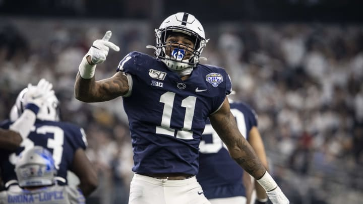 New Dallas Cowboys linebacker Micah Parsons is the early favorite in the odds to win Defensive Rookie of the Year next season.