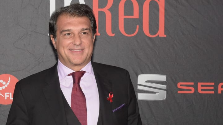 Joan Laporta is seen as the favourite