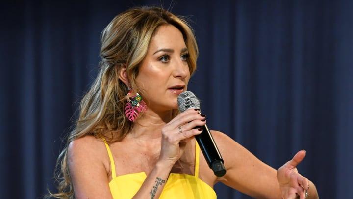 Geraldine Bazán fue consultada por la prensa sobre el polémico tema