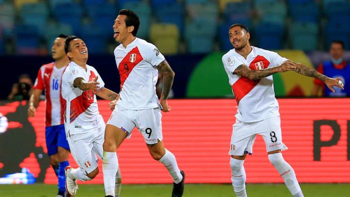 Gianluca Lapadula Peru Copa América Paraguai