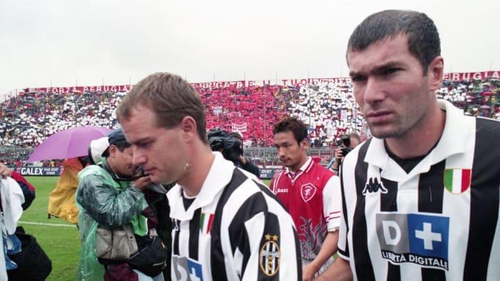 Hidetoshi Nakata, Alessandro Birindelli, Zinedine Zidane