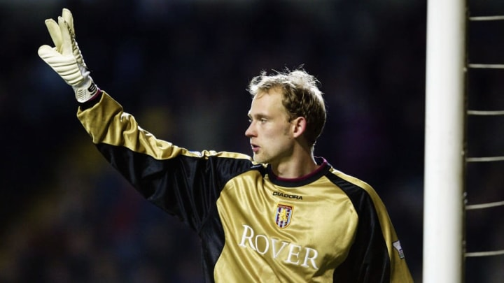 Peter Enckelman of Aston Villa
