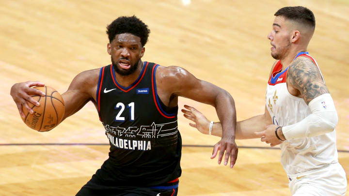 NBA FanDuel fantasy basketball picks and lineup tonight for 4/19/21, including Joel Embiid.
