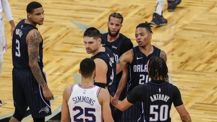 Ben Simmons and some fans.