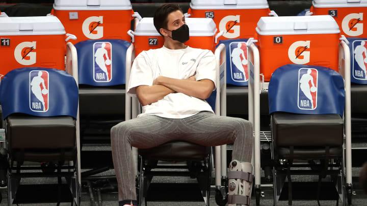 Zach Collins - Philadelphia 76ers v Portland Trail Blazers