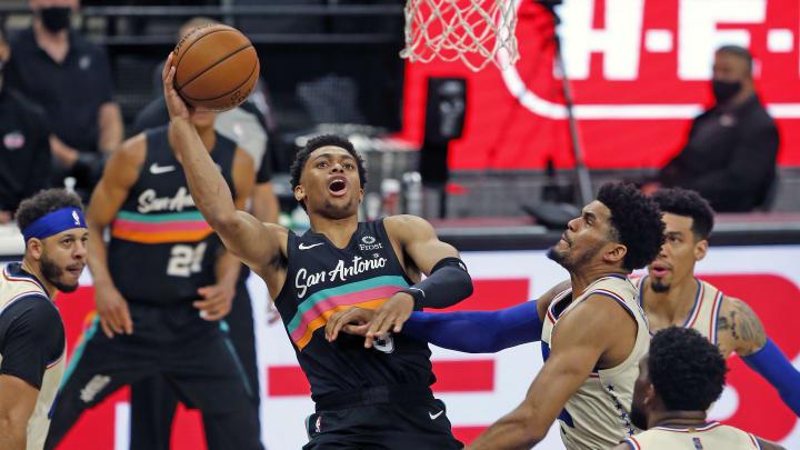 Keldon Johnson, Philadelphia 76ers v San Antonio Spurs