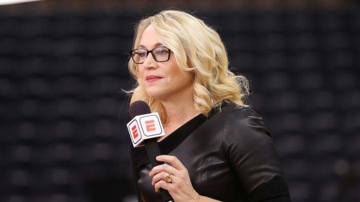 Doris Burke, Philadelphia 76ers v Toronto Raptors