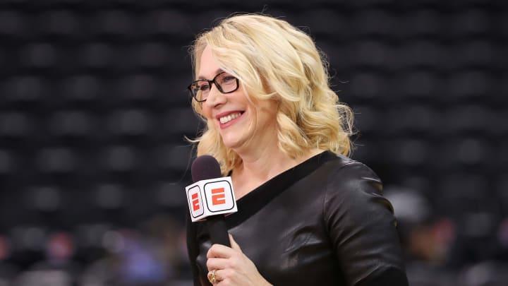 Doris Burke - Philadelphia 76ers v Toronto Raptors