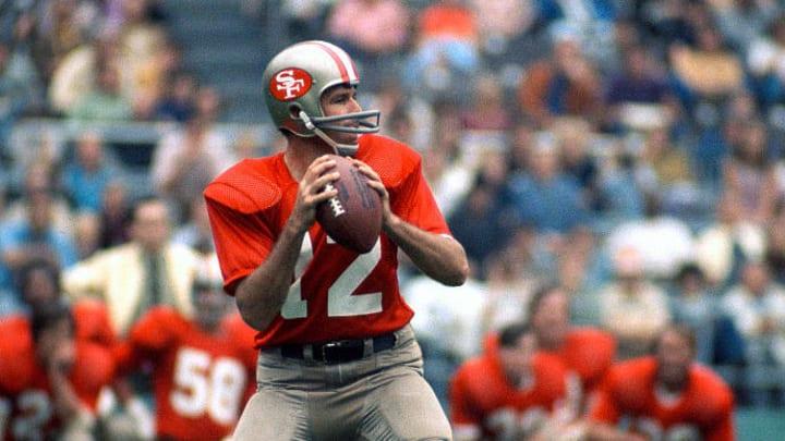 San Francisco 49ers QB John Brodie