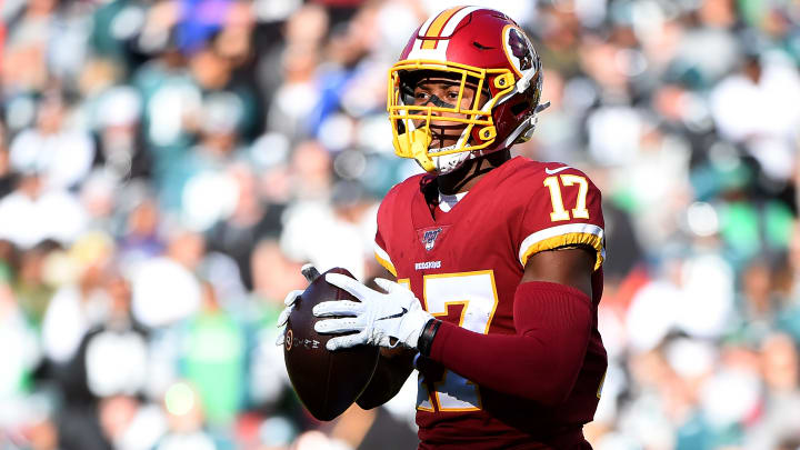 A connection between Terry McLaurin and Ryan Fitzpatrick seems to already be developing at Washington Football Team OTAs.