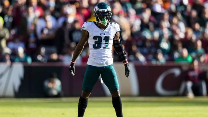 Jalen Mills is slated to replace Malcolm Jenkins at safety.