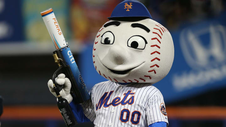 Mr. Met is going to need a raise.