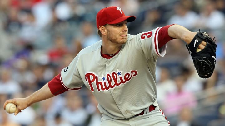 Roy Halladay became an October legend with the Philadelphia Phillies.