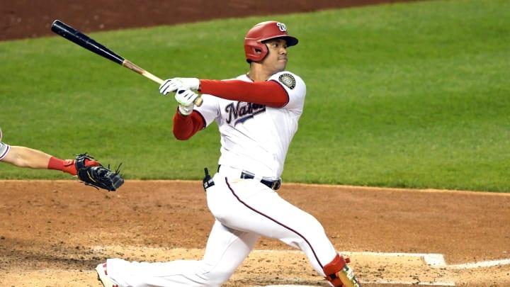 Juan Soto viene de ser el mejor bateador de la Liga Nacional con un título de bateo