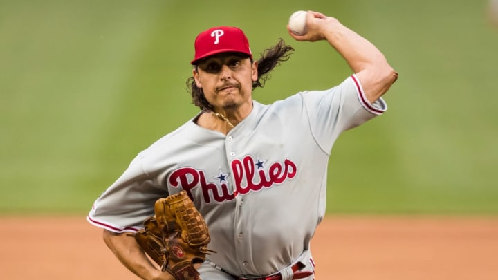 Jason Vargas finished 2019 with the Philadelphia Phillies.