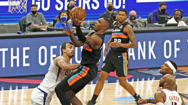 Lonnie Walker - Phoenix Suns  v San Antonio Spurs