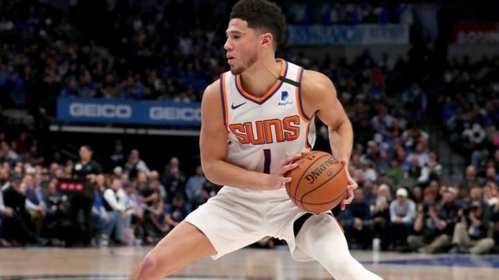 Phoenix Suns star Devin Booker was one of several NBA All-Star snubs.